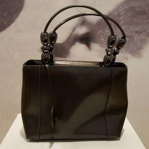 fb5a5db6fb0 CHRISTIAN DIOR 90s vintage silver small handbag